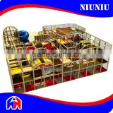 China nature tree series children plastic indoor playground with ball pool