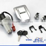 SCL-2013040381 for HORSE I QJ125F motorcycle lock set scooter parts from China