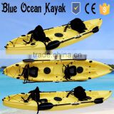 2015 Blue Ocean May hot sale Kayak sail 3 person/ocean Kayak sail 3 person/fishing Kayak sail 3 person