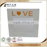China Supplier Accept OEM rustic hinging 5x7 wood photo frame picture frame