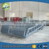 Used Dock Container Heavy Duty Goods Unloading Ramp Hydraulic Electric Warehouse Loading Ramp