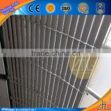 Hot latest product of china aluminum window louver prices woodgrain foshan louver roof
