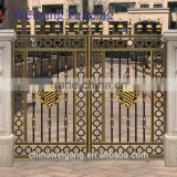 2016 used wrought iron galvanized models of the gate and fence designs / steel fence / security steel fence