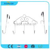 Household Wall Mounted Metal Pothook with 5 Hooks Used in Bedroom, Kitchen and Bathroom XQ08505