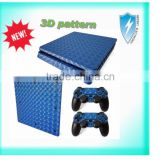 Newest 3D skin sticker for Play station 4 slim console controller