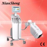 Professional High Frequency Machine Hifu Liposonix Focused Ultrasound Hifu 2000 Shots Body Slimming Machine For Hifu Body High Frequency Machine For Acne