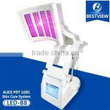 Wrinkle Removal Best Laser Light PDT Beauty Machine Led Face Mask Red 470nm For Acne Bio Led Light Therapy Pdt Skin Whitening Machines Wrinkle Removal