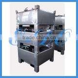 INQUIRY ABOUT Hot Sale Food Grade Stainless Steel IBC Tote Tank with UN Approval