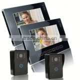 2.4GHz wireless Ultra-slim full-touch screen Water and oxidation proof ip intercom video door phone system