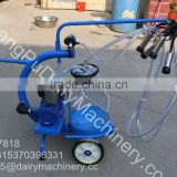 HL-JN11 Trolley Type Clear Single Bucket Mobile Milking Machine Convenient for Farm/Dairy