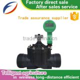 Function of farm irrigation system/ sprinkler water timer/electric timer with valve made in china export peru