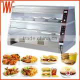 Food Warmer Cabinet for Fast Food Display