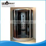 Indoor Steam Shower Cabin Room For One People Luxury Shower Room Cubicle