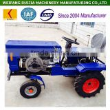 12hp electric start cheap mini tractor price for sale, China manufacturer 4wd tractors with attachments / accessories!