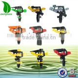 agricultural sprinkler water irrigation system plastic adjustable sprinkler with good price