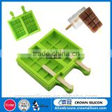 Factory directly sell New design FDA promotional christmas silicone ice cube tray silicone ice mold