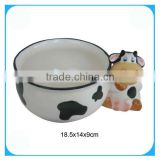Kitchenware accessories ceramic soup bowl