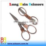 "4"" Top Sales Flodable Travel Scissors Sewing Thread Shears"