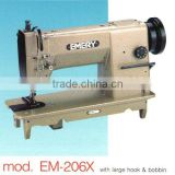 Inquiry about 1-needle compound feed lockstitch sewing machine