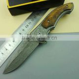 OEM imitation Damascus knife case knives folding pocket