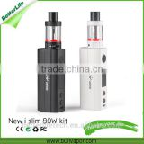 Betterlifetech 100% original Vapor Boxer new islim TC80W with 18650 battery box mod stater kit