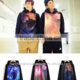 Men's Galaxy Digital Space Cosmic Graphic print / Sublimation Print Hip Hop T shirt Top Hoodies