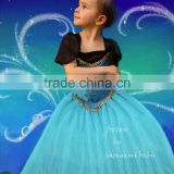 Wholesale fashion girls dresses children costume dress kids clothes girls party dress
