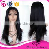 hot saled Hand Tied full lace human hair wig, human hair dreadlock wig, full lace wig brazilian human hair with baby hair