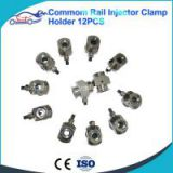 Diesel Fuel Injector clamps common rail injector adaptors CR tool injector repair tool 12pcs kit