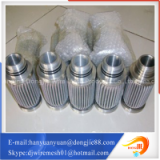 High Trade assurance pleated metal tube stainless steel air filter element