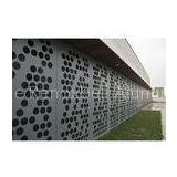 Curtain Wall / Cladding Perforated Metal Ceiling Panels 2.5mm / 3mm Aluminium Sheet