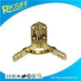 Zinc Alloy Gold Plating Arc Hinge