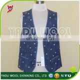 Men's printed vest Custom suit/business wear/garment for men and women
