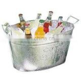 Galvanised Iron Ice Bucket Bucket