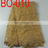 organza embroidery lace fabric(BO-010)