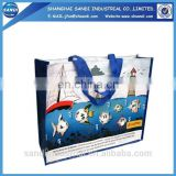 LOGO printing promotional plastic pp shopping bag