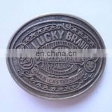 lucky brand antique silver belt buckles for men