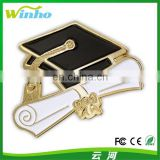 Winho Graduation Cap and Diploma School Graduate Lapel Pin