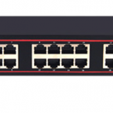 24channels 10/100M/1000M Gigabit POE Ethernet Switch 48V DC
