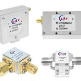Broadband Isolator Coaxial type frequency from 1 to 2 GHz