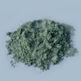 Green silicon carbide powder used for fine grinding and polishing