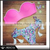 2016 Direct Selling Women Sexy Push Up Padded Beachwear Swimsuit                                                                         Quality Choice