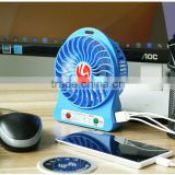 2016 New Product Ubs Blade Desk Mini No Leaf Air-Condition Usb Fan