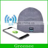 New Wireless Bluetooth Hat Winter Warm Beanies With V3.0 Bluetooth Music Hat Skullies Unisex Cool Knitted Cap Wholesale