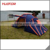 Double Layers 2 room 1 hall large capacity Type heavy duty family tent