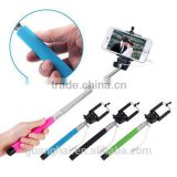 Popular Extendable wired Selfie Stick Monopods for digital products                                                                                                         Supplier's Choice