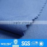 Blue Recycle Yarn Fabric 4 Way Stretch Fabric Polyester Fabric For Spring Autumn Sportswear Jacket Tie