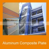 Aluminum cladding sheet prime quality PVDF paint in different color over 20 years guarantee