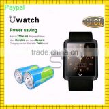 leather band waterproof power saving u10 smart bracelet watch                                                                         Quality Choice