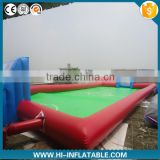 European Cup giant inflatable soap football field inflatable water portable football field for sale                                                                                                         Supplier's Choice